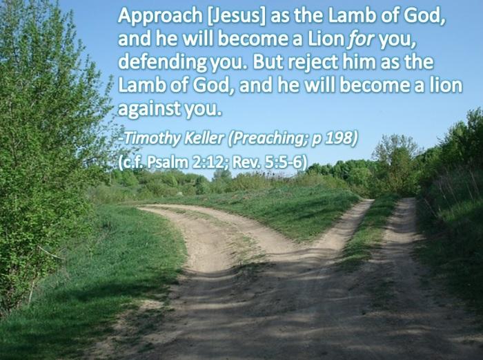 lion lamb jesus
