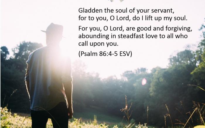 Gladden the soul