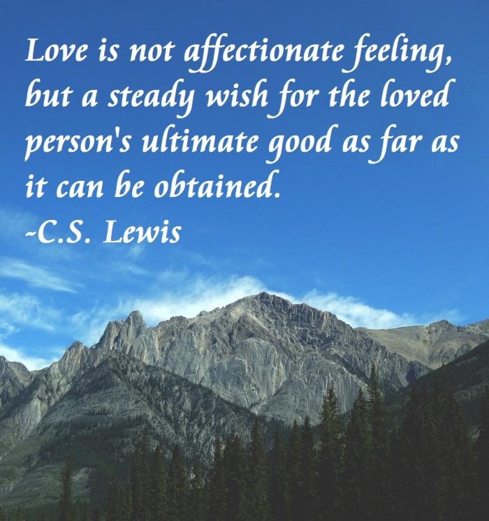 CS Lewis Love
