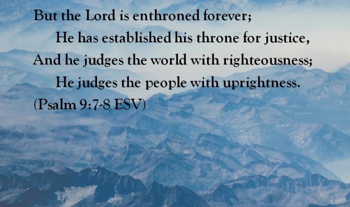Psalm 9_7-8