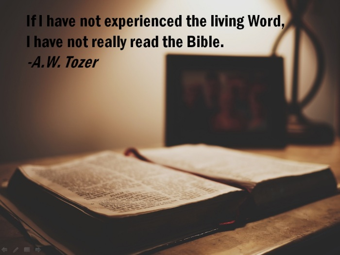 experience the Word