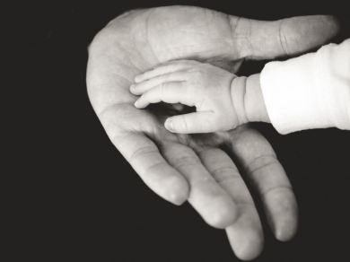 father-hand
